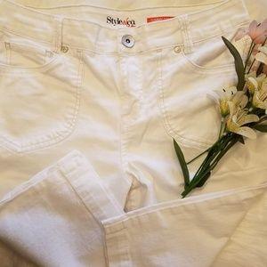 Style & Co Capri White 4P